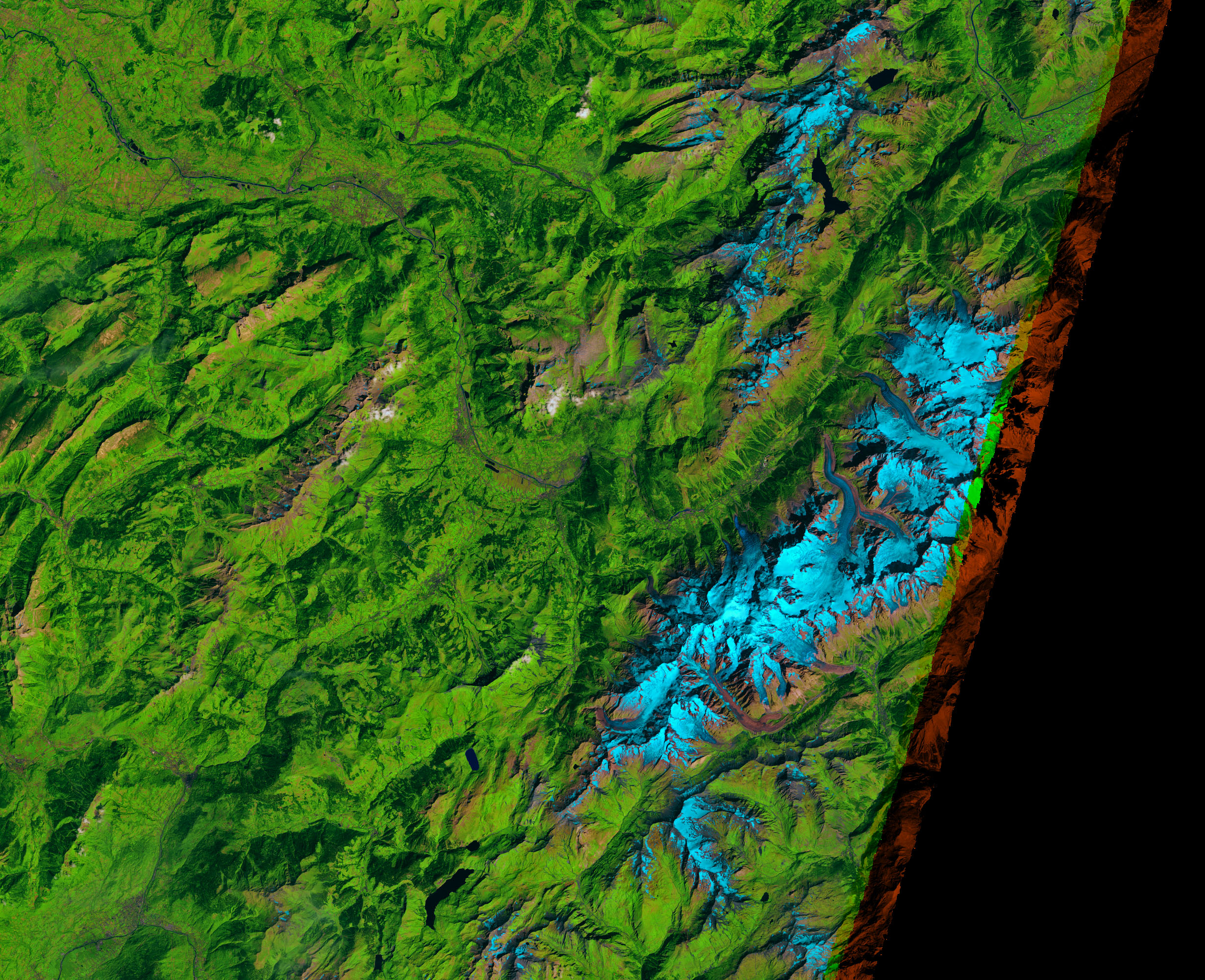 Ice Could Crumble from Planpincieux Glacier - related image preview