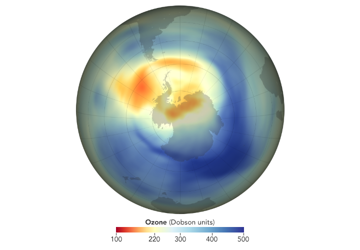2019 Ozone Hole is the Smallest on Record
