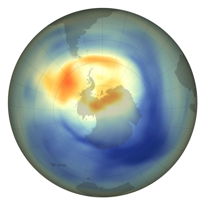 2019 Ozone Hole is the Smallest on Record - related image preview