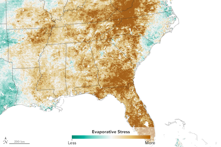 A Flash Drought Dries the Southeast - related image preview