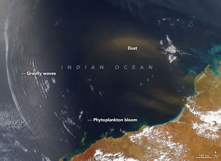 A Beautiful Moment Over the Indian Ocean - related image preview