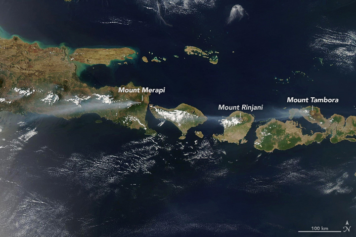 Fires on the Flanks of Volcanoes - related image preview