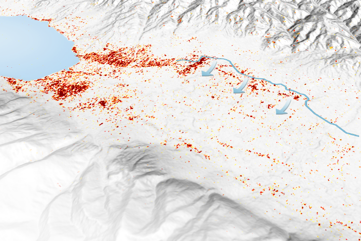 Palu Landslides Linked to Rice Irrigation - selected image