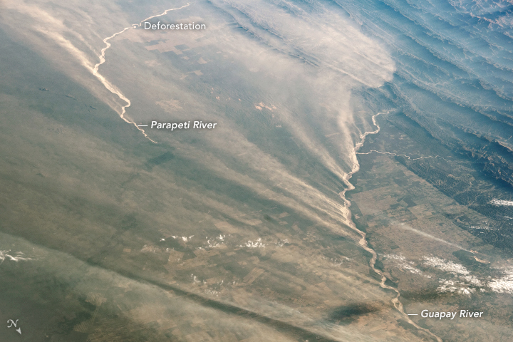 Bolivia's Sandy Rivers