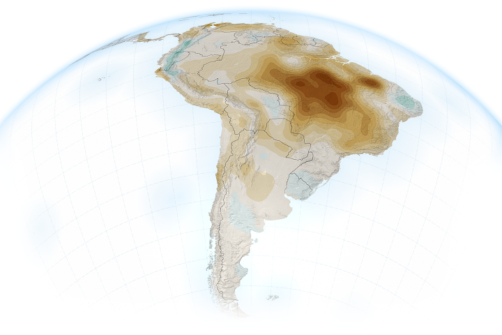 Human Activities Are Drying Out the Amazon - selected image
