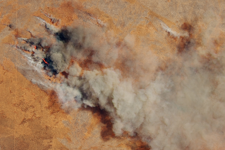 Fire in Western Australia - selected image