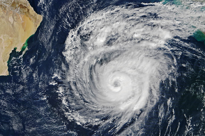 Spate of Cyclones in the North Indian Ocean - selected image