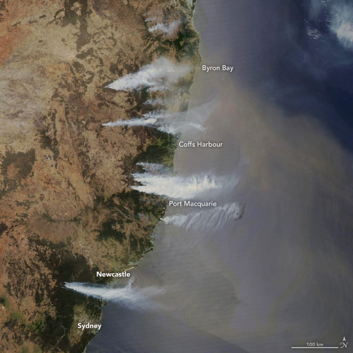 Bushfires in New South Wales - related image preview