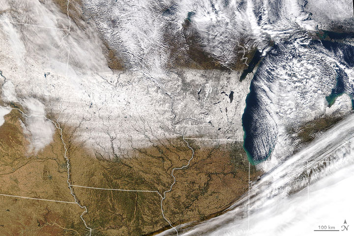 Early November Snow Coats the Midwest - related image preview