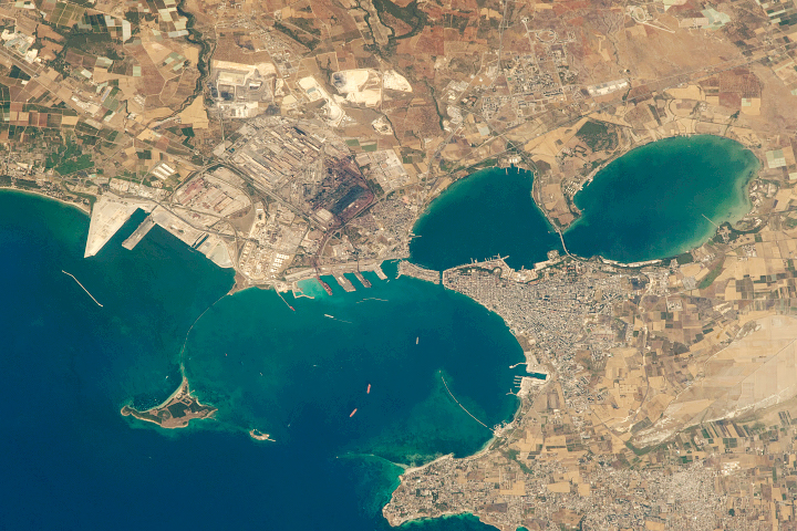 Taranto City, Southern Italy - selected image