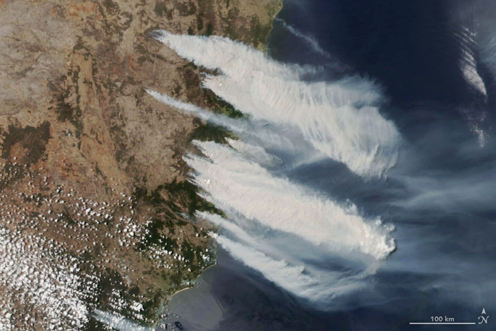 Early Season Fires Burning in New South Wales - related image preview