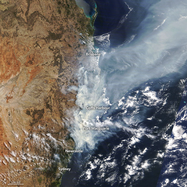 Bushfires Still Raging in New South Wales - related image preview