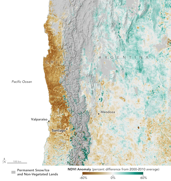 Long-Term Drought Parches Chile - related image preview