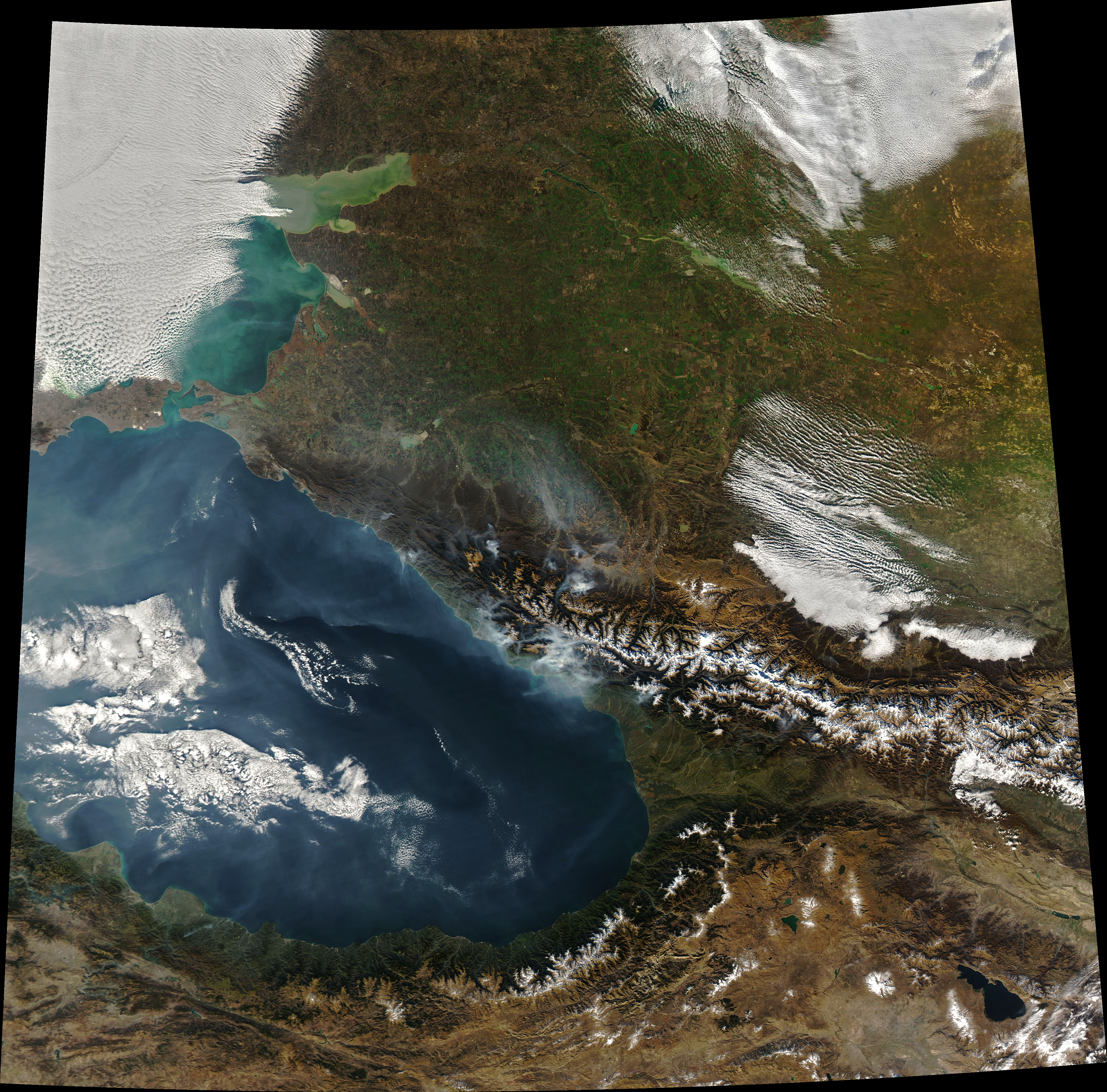 Fires in the Caucasus - related image preview