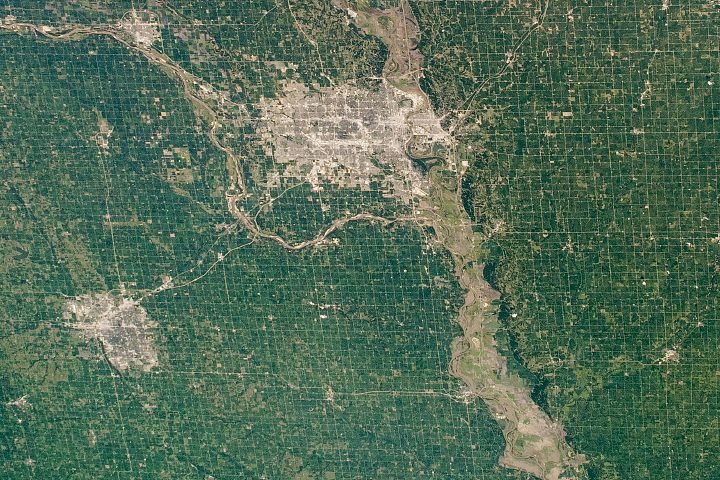 Agriculture Patterns in the Great Plains - selected image