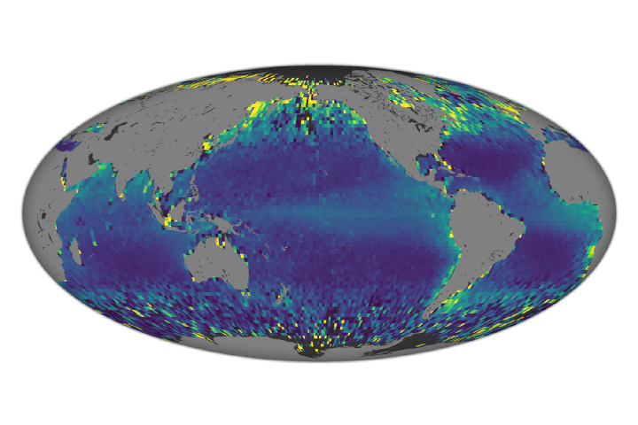 Satellite Observes Massive Ocean Migration - selected image