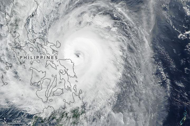 Typhoon Kammuri Approaches the Philippines