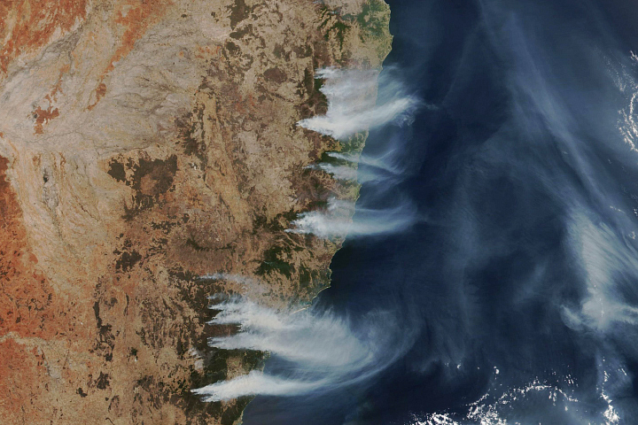Australian Fires Still Burning