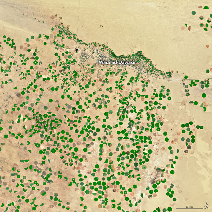 Desert Crops Thrive as the Aquifer Shrinks - related image preview