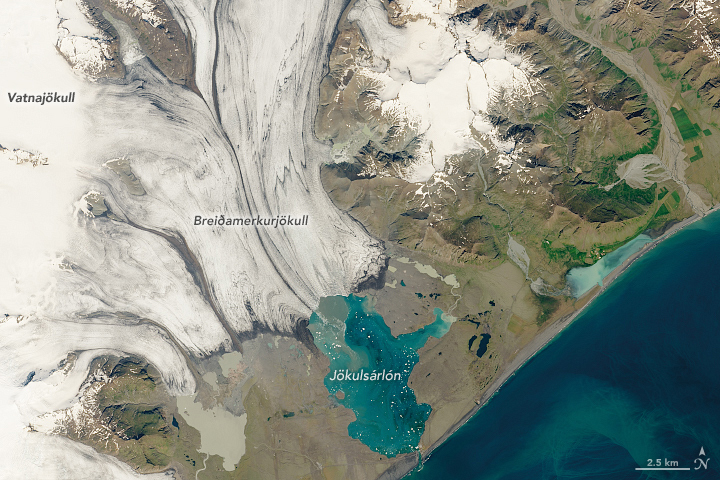 Iceland's Glacial Lagoon - related image preview