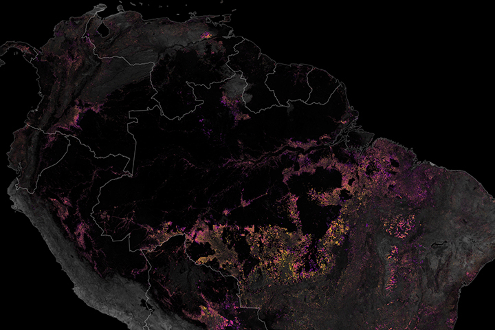 Tracking Amazon Deforestation from Above - related image preview
