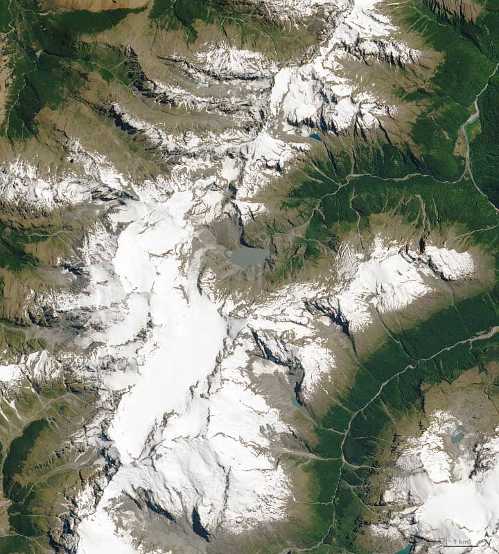 Traces of Australia on New Zealand Glaciers
