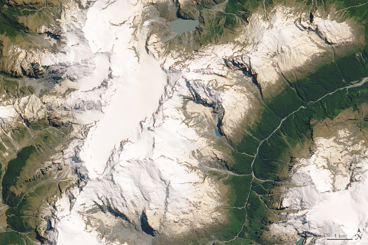 Traces of Australia on New Zealand Glaciers - related image preview