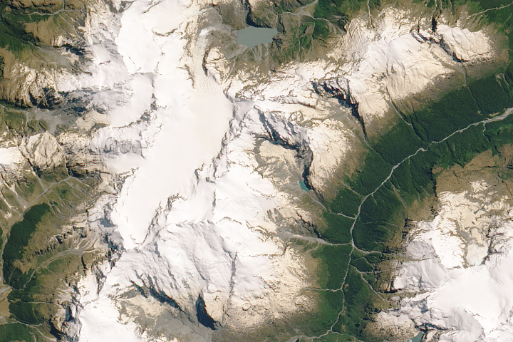 Traces of Australia on New Zealand Glaciers - selected image