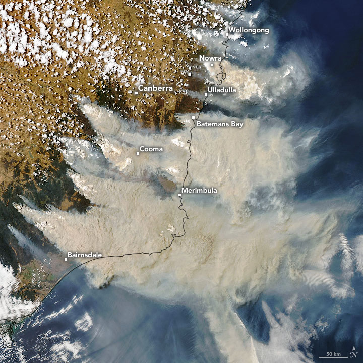 Fires and Smoke Engulf Southeastern Australia - related image preview