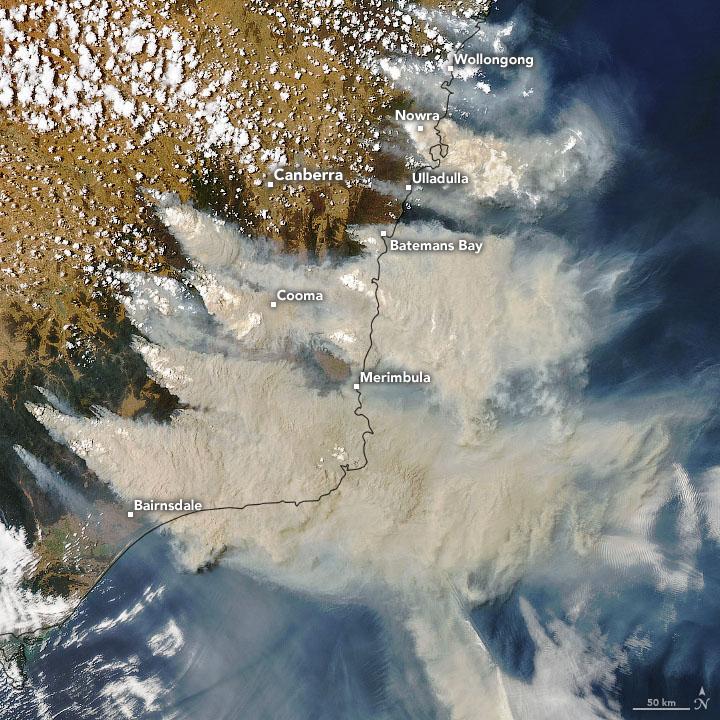 Fires and Smoke Engulf Southeastern Australia