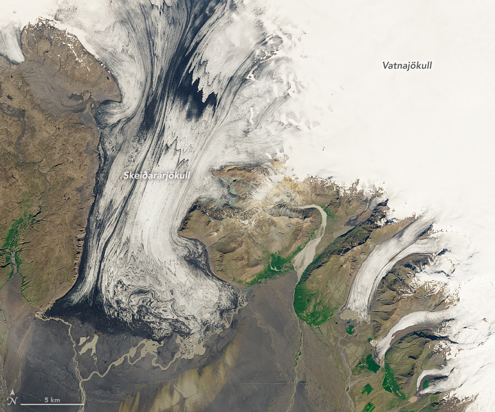 Iceland's Volcanic Glacier - related image preview