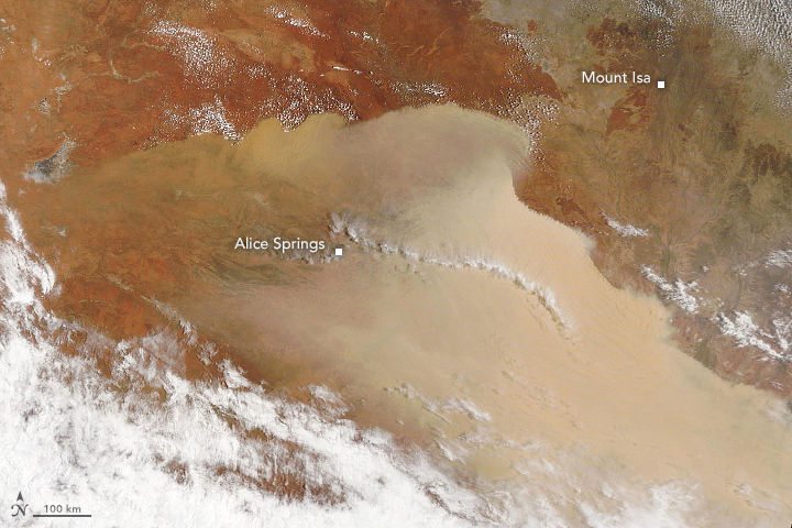 Major Dust Storm Sweeps Across Australia - related image preview