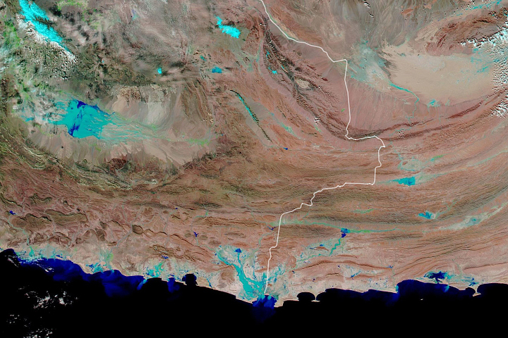 Flash Flooding in Iran - selected image