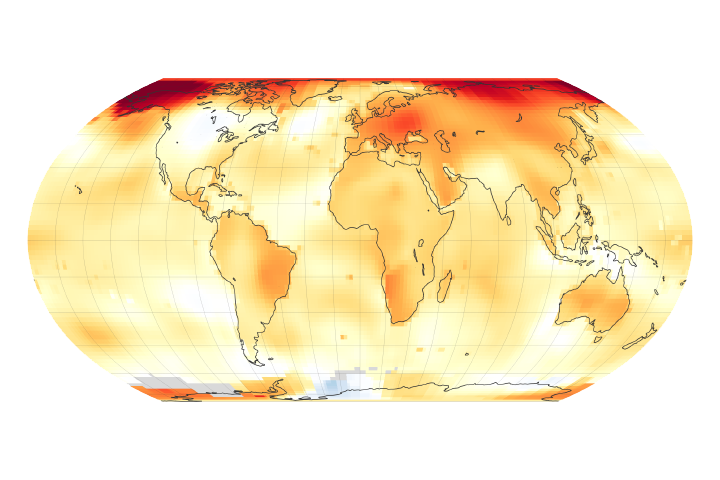 2019 Was the Second Warmest Year on Record - selected image