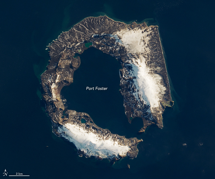 The Island Shaped like a Horseshoe