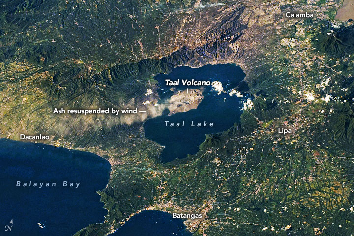 Windblown Ash from Taal Volcano - related image preview