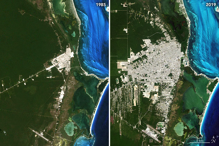 How Cancún Grew into a Major Resort