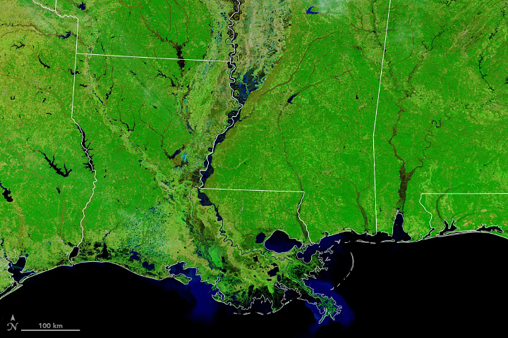 Winter Flooding on the Mississippi - related image preview