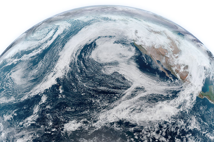 Moisture Pummels the Pacific Northwest - selected image