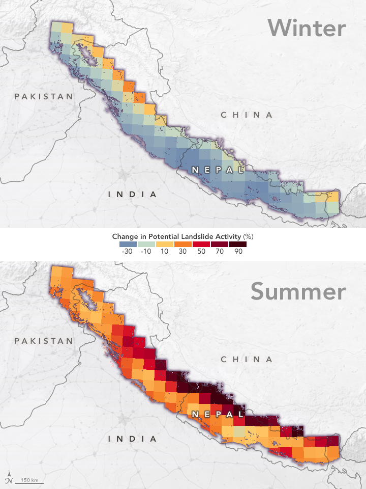 Climate Change Could Trigger More Landslides in High Mountain Asia - related image preview
