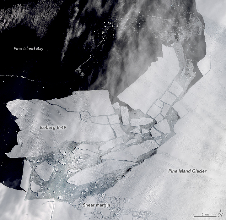 Pine Island Glacier's Newest Iceberg - related image preview