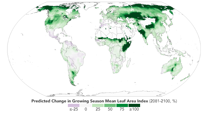 Global Green Up Slows Warming - related image preview