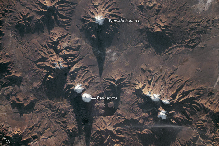 Nevado Sajama and Parinacota - related image preview