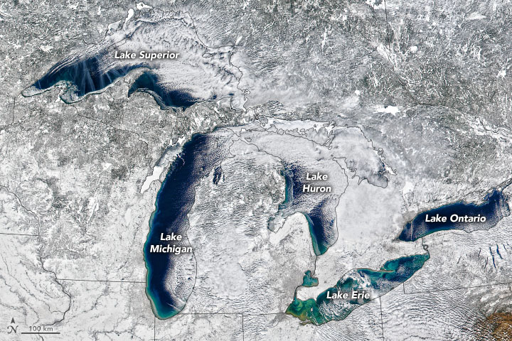 Great Lakes, Not so Great Ice