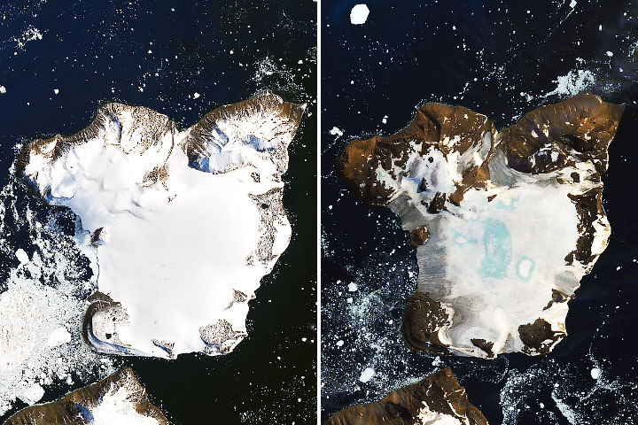 Antarctica Melts Under Its Hottest Days on Record - selected image