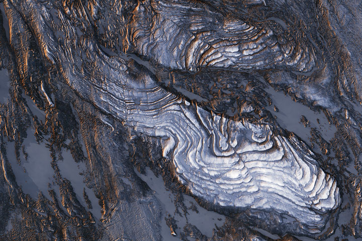 Phenomenal Faults and Folds - selected image