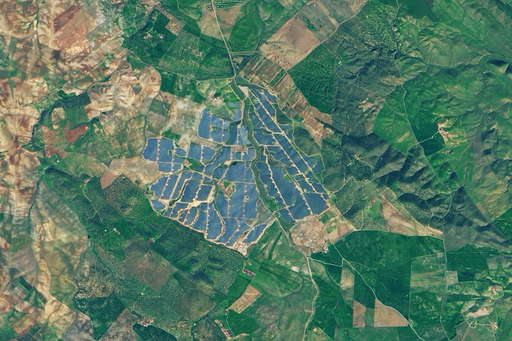 The Largest Solar Power Plant in Europe (For Now)