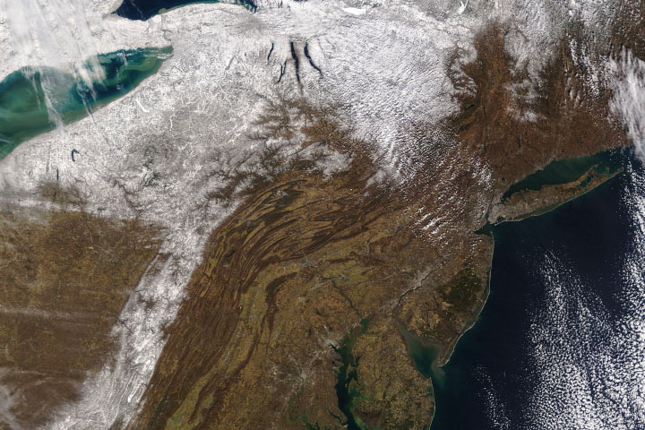 A Burst of Lake Effect Snow