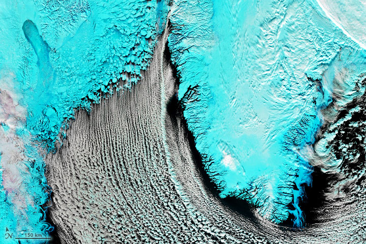 Cloud Streets Over the Labrador Sea - related image preview