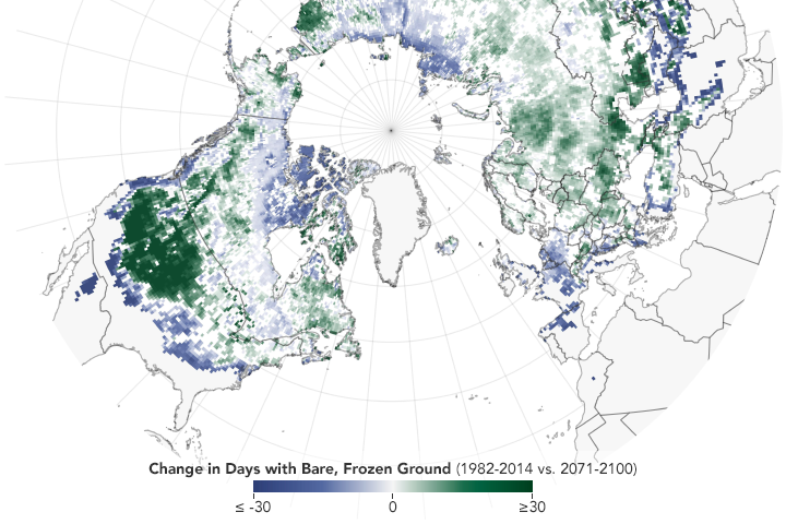 Habitat at Risk for Snow-Dependent Organisms - related image preview